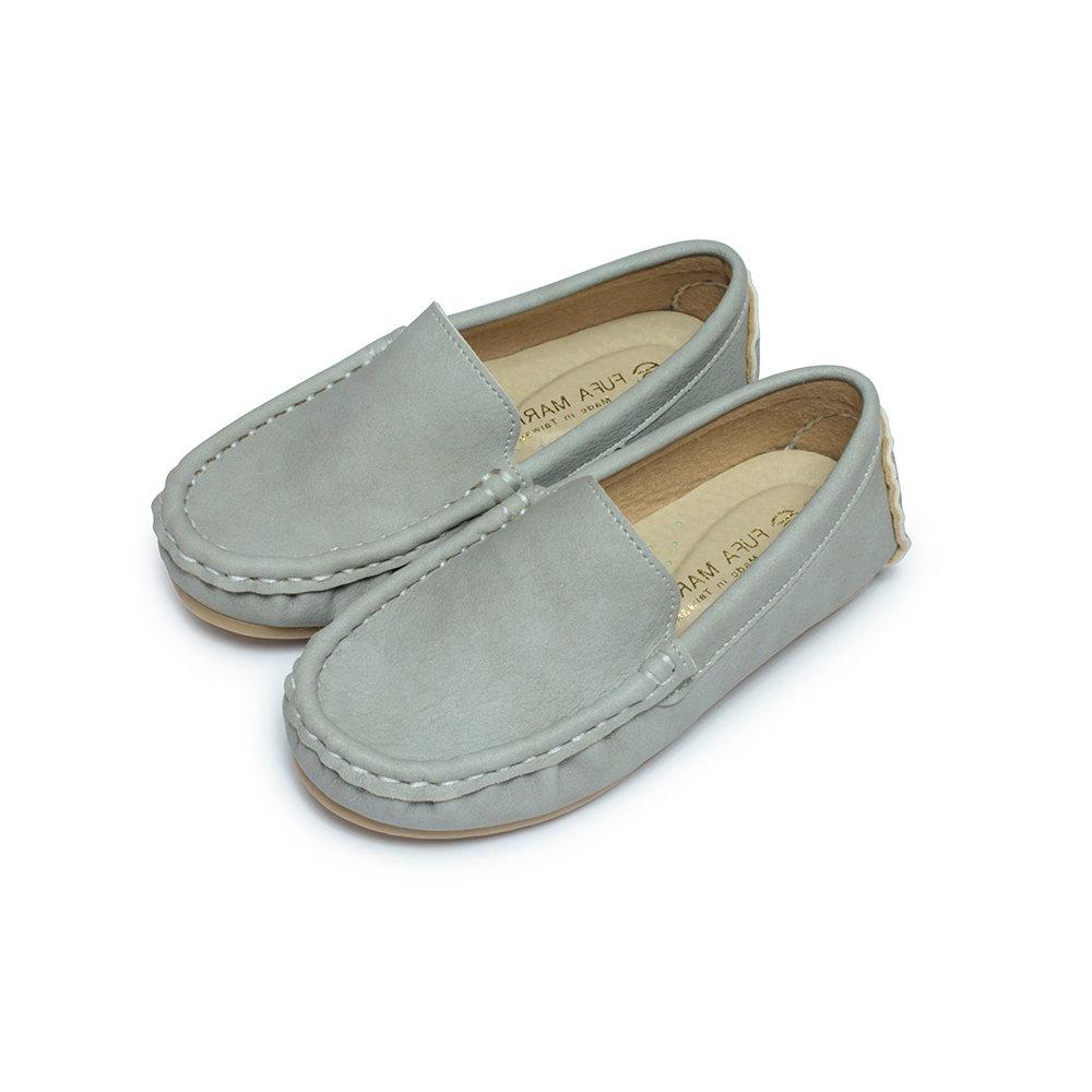 BuyGlasses 軟軟棉花糖兒童樂福休閒鞋-灰