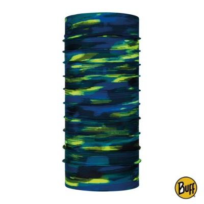 【西班牙BUFF】經典頭巾 Plus-油彩藍綠