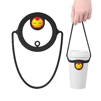 Bone Cup Tie 環保杯綁 - 飲料杯提袋再進化-鋼鐵人