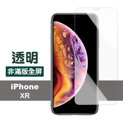 iPhone XR 透明 高清 非滿版 防刮 保護貼