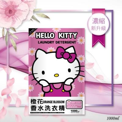 HELLO KITTY 橙花香水洗衣精(1000ml補充包)