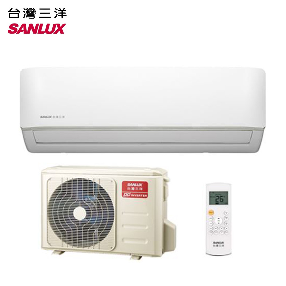 SANLUX台灣三洋 3-5坪變頻冷暖分離式冷氣SAE-V22HF/SAC-V22HF