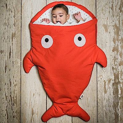 【嬰幼兒標準版-喜氣紅】BabyBites西班牙鯊魚咬一口睡袋