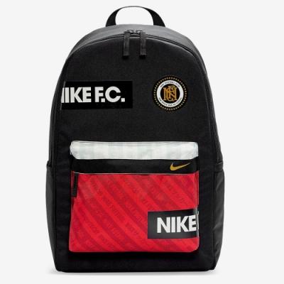 NIKE 後背包 足球 俱樂部 運動 休閒 黑紅 BA6159010 NK FC BKPK