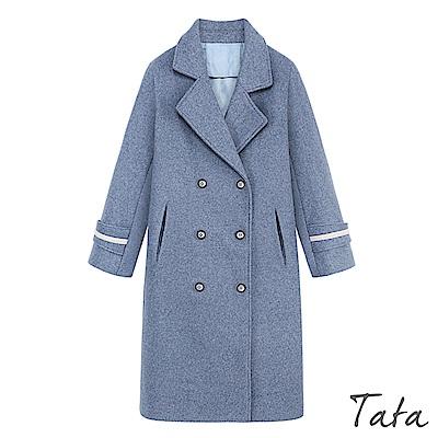 莫蘭迪毛呢大衣外套 TATA