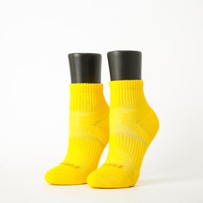Footer除臭襪-輕壓力單色足弓襪-六雙入(黃*2+綠*2+粉紅*2)