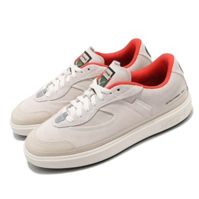 Puma 休閒鞋 Oslo Pro Attempt 男鞋 基本款 簡約 舒適 穿搭 麂皮 灰 米白 37351701