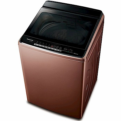 Panasonic國際牌  17 KG 變頻直立式洗衣機 NA-V 170 GB-T 晶燦棕