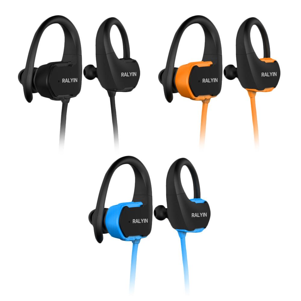 【SOYES】運動防水耳掛式MP3播放內建8G藍牙耳機BT7(附收納硬殼)