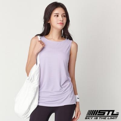 STL Soft Stretch Modal 韓國莫代爾無袖運動上衣 薰衣草紫