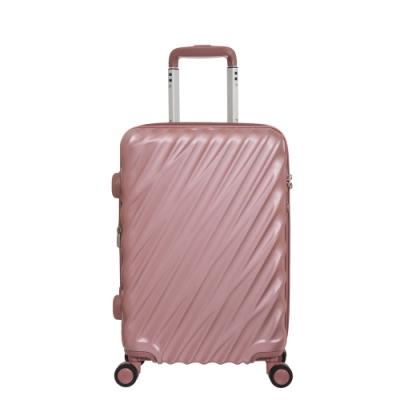 【OUTDOOR】VIGOR-20吋拉鍊箱-珠光粉紅 OD1671B20PK