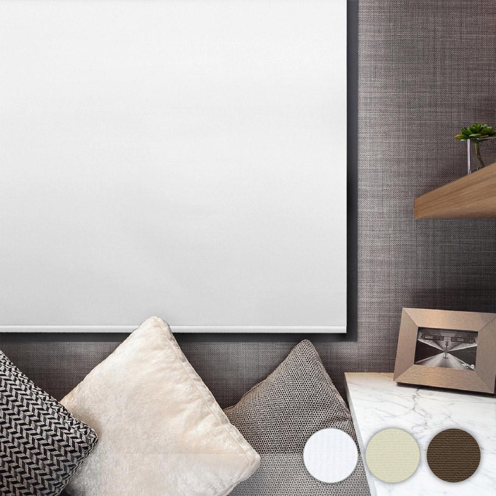 加點 165x185cm DIY搖控電動 典雅植絨系列遮光 捲簾 窗簾