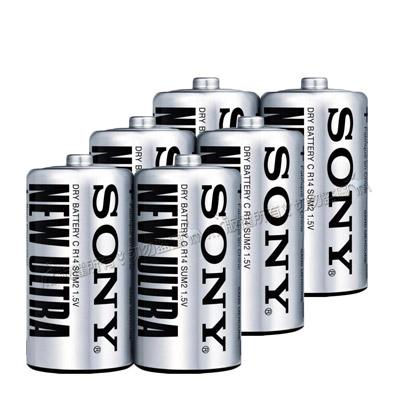 SONY ULTRA環保二號碳鋅電池 (6顆入)