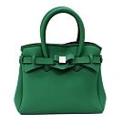 SAVE MY BAG 義大利品牌 PETITE系列 松樹綠超輕量手提托特包