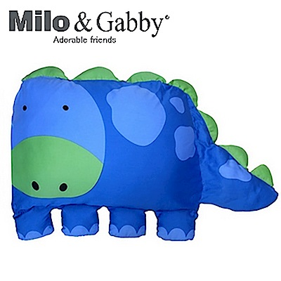 Milo&Gabby 動物好朋友-大枕頭套(DYLAN恐龍)