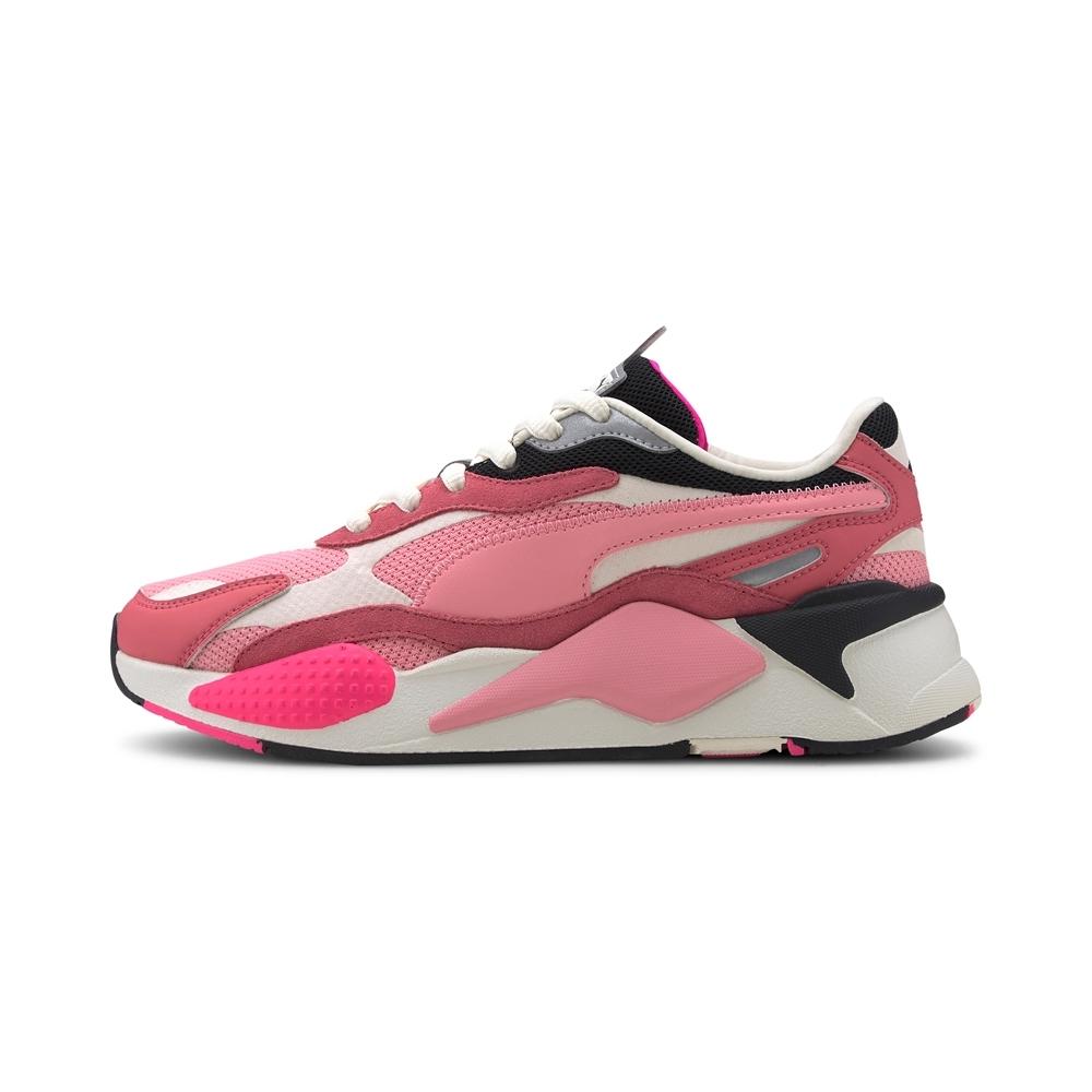 PUMA-RS-X³ PUZZLE 男女復古慢跑運動鞋-甜粉莓