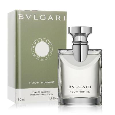 *BVLGARI 寶格麗 大吉嶺男性淡香水 Pour Homme 50ml EDT-公司貨