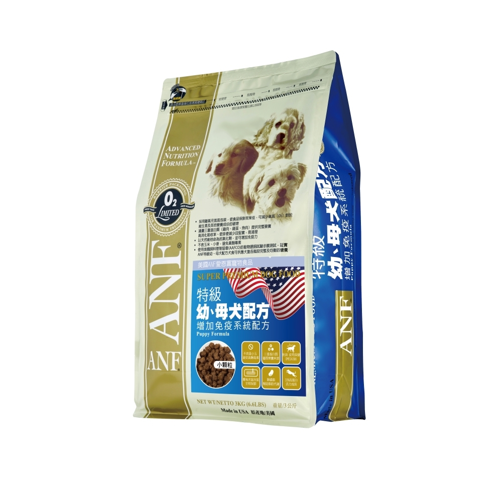【ANF 愛恩富】特級幼母犬 6kg(滿足幼犬及懷孕犬營養需求)