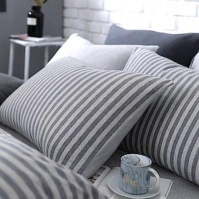 OLIVIA 天竺棉  春日  美式薄枕套 兩入  100%新疆純棉