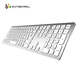 B.Friend KB700S 鋁合金雙模有線鍵盤