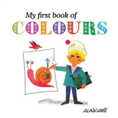 My First Book Of Colours 我的第一本繽紛色彩書