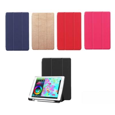Apple iPad (2018/2017) 9.7吋 超薄三折平板保護套-送保護貼