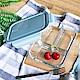 Homely Zakka 多分隔保鮮防漏玻璃餐盒-三分隔 product thumbnail 1