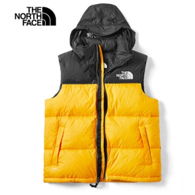 The North Face 1996Nuptse羽絨背心 黃 NF0A496T70M