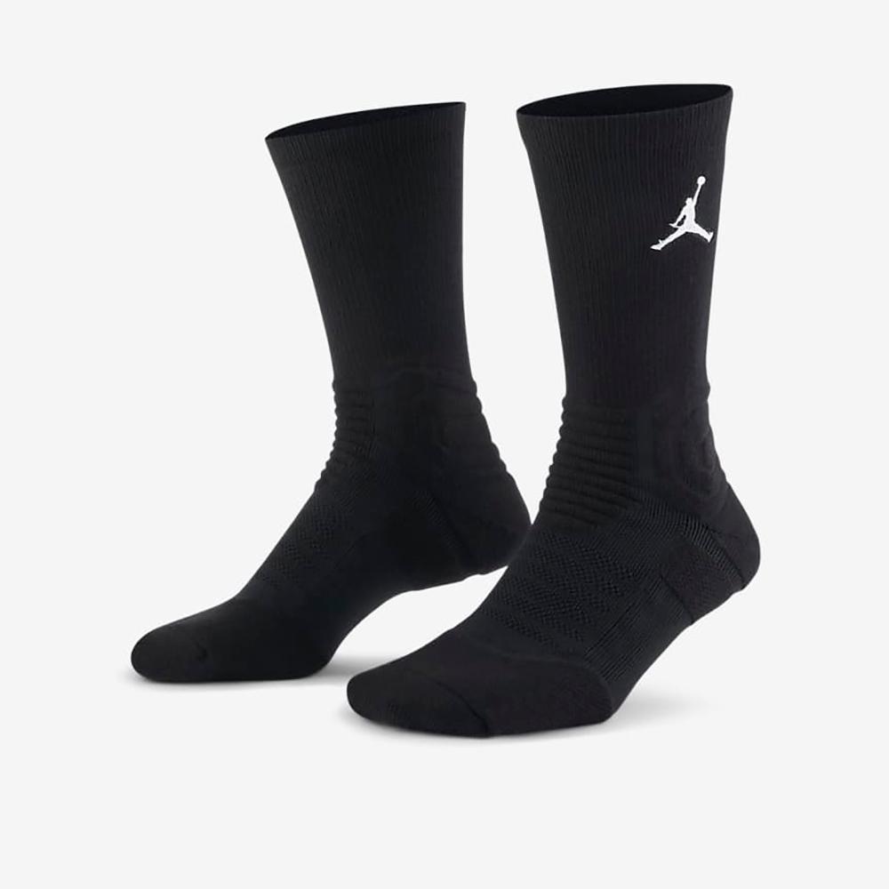 Nike ULTIMATE FLIGHT 2.0 CREW 中筒襪-黑-SX5854010