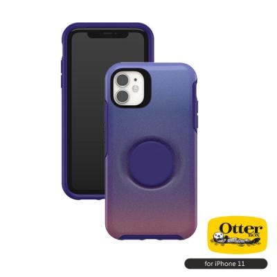 OtterBox Otter+Pop iPhone 11(6.1吋)專用 防摔吸震保護殼-Symmetry炫彩幾何泡泡騷系列■晚霞