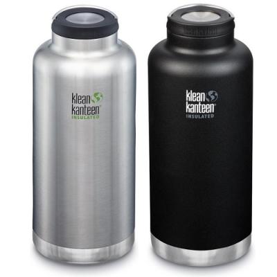 美國Klean Kanteen TKWide寬口不鏽鋼保溫瓶1900ml
