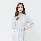 Hang Ten - 女裝 - 氣質綁帶襯衫-白色