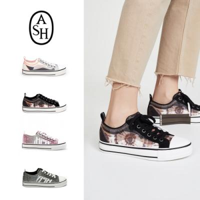 [時時樂限定]ASH-時尚潮流復古低筒帆布鞋 多款均一價
