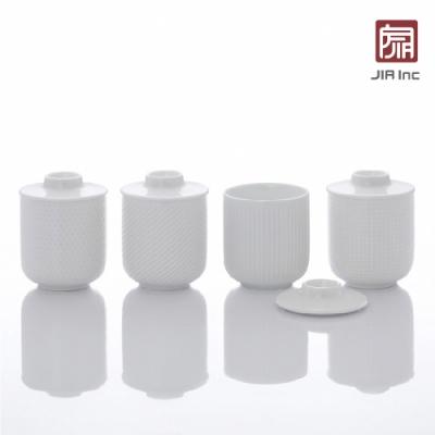 JIA Inc. 品家家品 異同系列 茶杯組180ml-4杯入