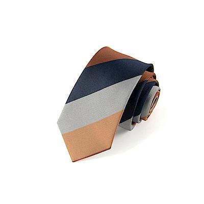 拉福   領帶汀南6cm中窄版領帶拉鍊領帶(兒童)