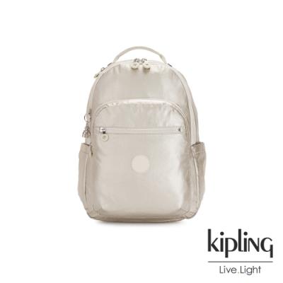 Kipling 星光流沙金機能手提後背包-SEOUL