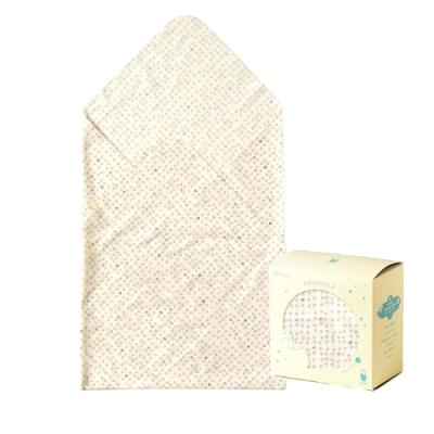 Hoppetta 多功能紗布巾-白蘑菇(盒裝)