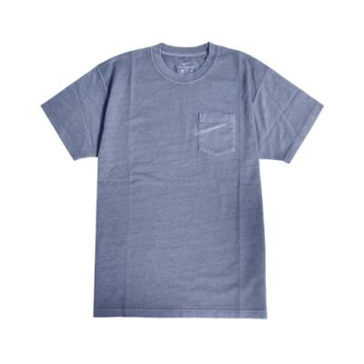 Nike T恤 SB Pocket Skate Tee 男款 運動休閒 寬鬆 口袋 圓領 棉質 藍 CW1467469