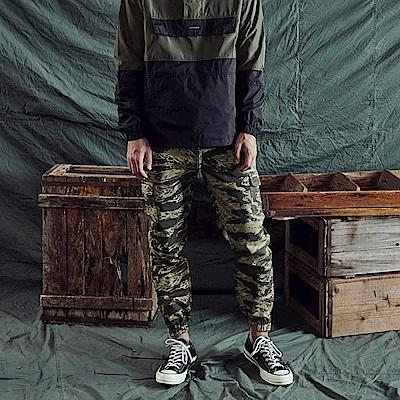 CACO-301迷彩縮口褲-情侶款(兩色)-男【QNA022】