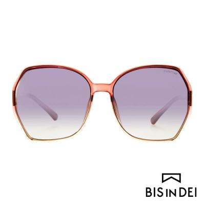 BIS IN DEI 復古爵士框太陽眼鏡-紅