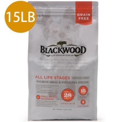 Blackwood柏萊富-無穀全齡低敏挑嘴配方(鮭魚+豌豆)15LB