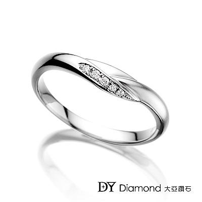 DY Diamond 大亞鑽石 18K金 經典鑽石線戒