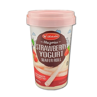 魔力哥  捲心酥草莓優格口味(120g)