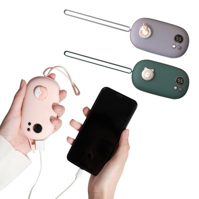 colorland二合一行動電源暖手寶 顯示溫控 電量(雙面發熱.USB充電供電)