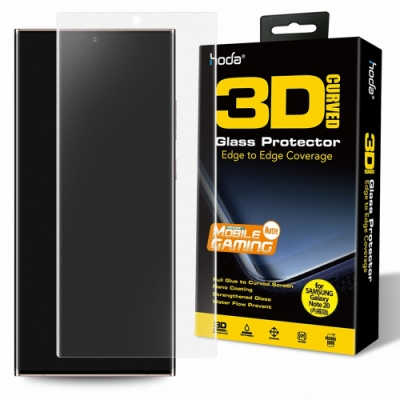 hoda Samsung Galaxy Note 20 / Note 20 Ultra 手遊專用3D防爆霧面玻璃保護貼(UV膠全貼合內縮滿版)