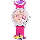 HELLO KITTY 凱蒂貓甜美可愛造型手錶-桃紅/29mm