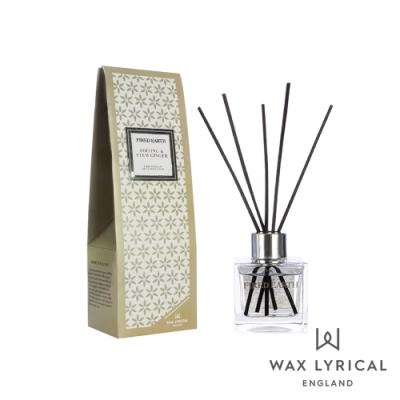 英國 Wax Lyrical 大地系列擴香瓶-生薑烏龍 Oolong & Stem Ginger 100ml
