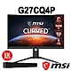 msi微星 Optix G27CQ4P 27型 曲面電競螢幕(送MAG XA2821 SoundBar喇叭) product thumbnail 1