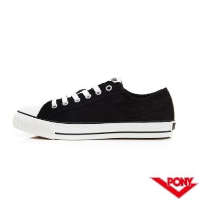 【PONY】Shooter系列燈芯絨鞋面低筒復古帆布鞋 男女鞋-3色