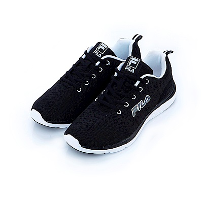 FILA 男慢跑鞋-黑 1-J201S-001